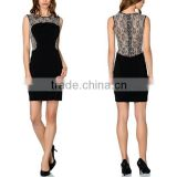 made in china clothing new design close cut mini bodycon girl dress