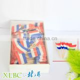 6.5cm party items Holland flag picks