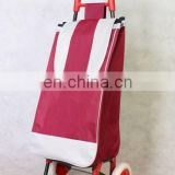 new design hot selling luggage wheeled trolley shopping bags