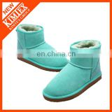 2014 classical winter wool ankle boots