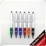 TP-47 New design 2 IN 1 touch cello ball pen ,cello pen with stylus TIP