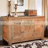 Sideboard ROTTERDAM with 3 doors reclaimed teak wood furniture