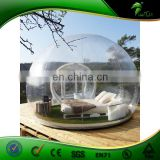 PVC Clear White Infltable Dome Tent / Inflatable Camping Tent / Transparent Inflatable Tent With Rooms For Seal