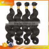Wholesale body wave hair, no shedding no tangle 100% remy virgin human hair extension trio Brazilian body wave