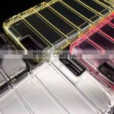 Strong Transparent TPU case Wall Lines Clear Case Anti Drop TPU Case