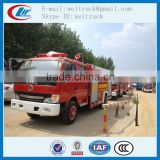high performance 4x2 3cbm dfac fire truck for hot sale