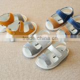 B21408A Baby leather sandals Baby comfortable soft Toddler shoes