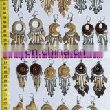 Handmade Wooden Earrings Peruvian Jewelry Wholesale Artesan Art
