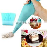 High quality reusable silicone piping bag, silicone pastry bag for cake decorating