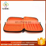 Custom portable carry multicolored EVA Large Pencil Case
