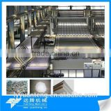 Advanced technology plaster board making machinery and equipment