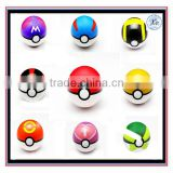fashion Classic Anime Pikachu kid various colors pokeball toy with doll