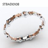 Gold And Silver Chain Stainless Steel Bracelet For Men