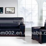<b>WOOD</b> <b>LEATHER</b> OFFICE <b>SOFA</b>