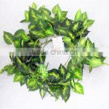 vertical garden wall hanging 240cm Long cheap make fake recycling plastic PE Rohdea japonica vine artificial plant EMX10 3010