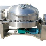 Automatic tiltable vacuum cooking pot