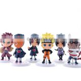 Naruto Childrens game Action Movie Figures Mini Toys Wholesale