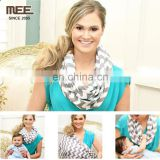 100% organic breast feeding nursing cover quality nursing scarf maternity cover scarf