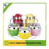 Cute Design set of 5 stainless steel condiment pot/Seasoning set P77190