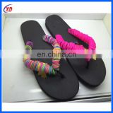 2016 comfortable men EVA customized promotional flip flops
