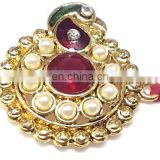 Ratna handicrafts Exclusive Red Stone Rakhi - Indian RH-Rakhi-311