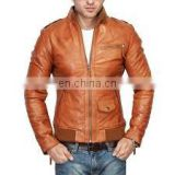 new hotest styleof embroidery leather jackets