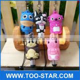 Cartoon 3D Animal Shape Capacitive Sytlus Pen