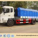good quality dongfeng 12 CBM hook roll type garbage truck for sale