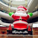 10m Height Large Christmas Inflatable Santa Claus for Shop and Party Supplies