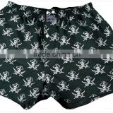 Production green captain Underwear, boxer short Hot Style Fashion Wholesale Sexy Men Underwear sex boxer hot mens boxer short
