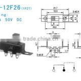 SS-12F26 slide switch