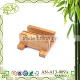 Aonong Eco-friendly kitchen multifunctional tool post chopping block Bamboo cutter holde