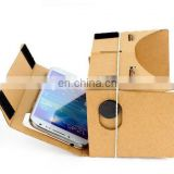 DIY Google Cardboard Virtual Reality 3D Glasses for iPhone Samsung Mobile Phone VR011