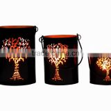 Metal Tree of Life Lantern