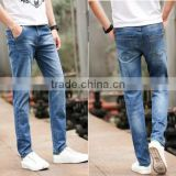 Men Gender and Breathable Jeans For Blue Pants