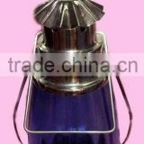 Stainless steel hurricane lantern