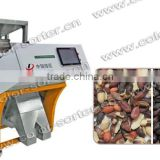 Professional CCD Peanut Color Sorter / Peanuts Color Sorting Machinery