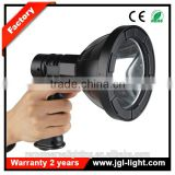 portable searchlight equipment Portable ABS housing search light hand held LED Rechargeable 10w cree car spotlight