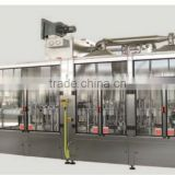 bottle rinse filling and capping machine