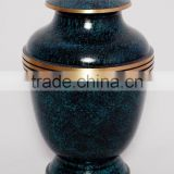 black powder coated antique stylish metal urns