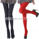 Latest Fashion Show Summer Thin Sheer Plain Pure Color Bright Rainbow Color Girls Cheap Silk Tights