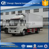 Foton 4 ton 5 ton small refrigerator box truck for fishing delivery body van