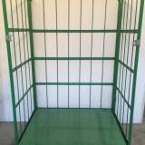 Industrial Container Warehouse Cages Rolling Rack Wire Mesh Trolleys