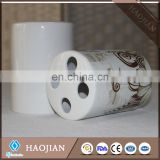 sublimation ceramic toothbrush holder and soap dispenser
