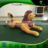 Custom Tummy Inflatable PVC 0.4 mm Lion Replica Toys for Kids Adult Lion Cartoon Animal Character Balloons