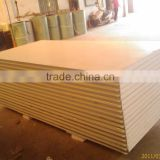 Colored steel and EPS foam insulation board Structure for fencing material of building site