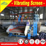 high quality hot sell in Ghana single deck vibrating screen