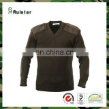 hot sale knitted pullover for army