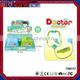 Wholesale medical doctor kit toy,doctor play set ,medical equipment toys for kids