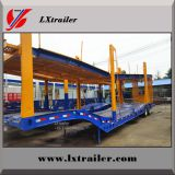 LiangXiang 2 axles double platform hydraulic car carrier trailer